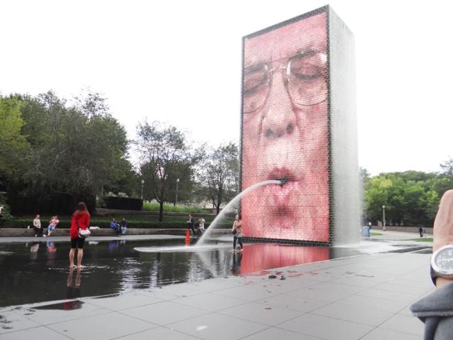 Crow Fountain