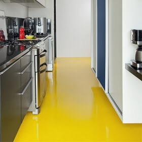 Aplicação em ambiente residencial