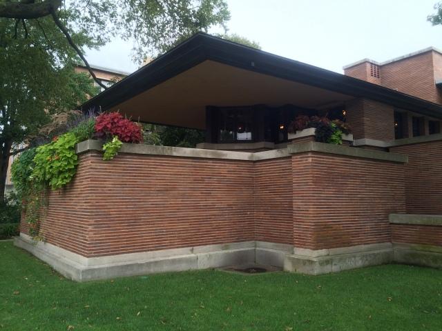 Robie House, de Frank Lloyd Wright - foto de Ricardo Trevisan