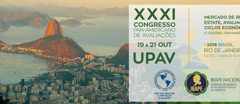 UPAV 2016 (Rio): Workshop pré-congresso 1 – Avaliações econômicas e de baseimobiliária